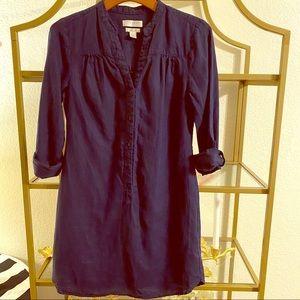 KENAR linen mini dress